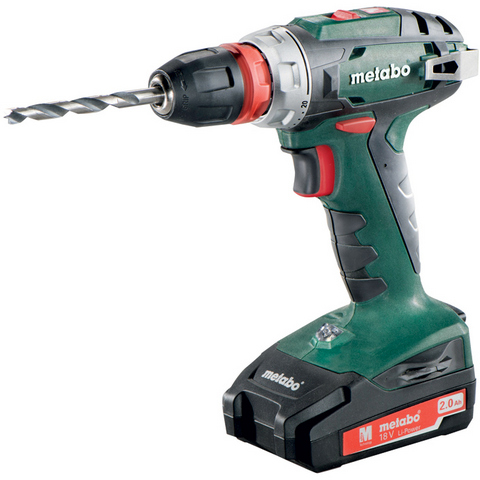 Metabo BS 18 Quick Borrskruvdragare med 10mm chuck
