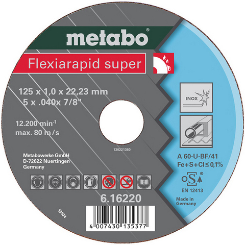 Metabo 616228000 Kapskiva