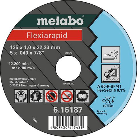 Metabo 616187000 Kapskiva