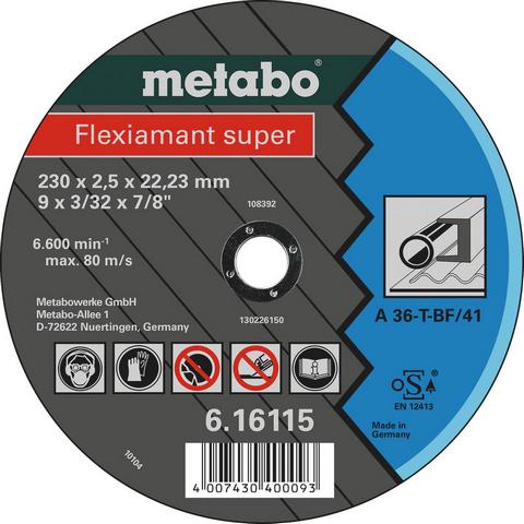 Metabo 616107000 Kapskiva