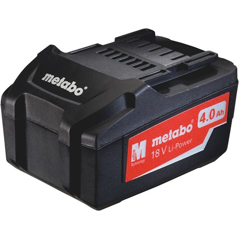 Metabo 18V Li-Power Batteri 4,0Ah