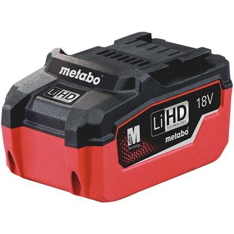 Metabo 18V LiHD Batteri 6,2Ah