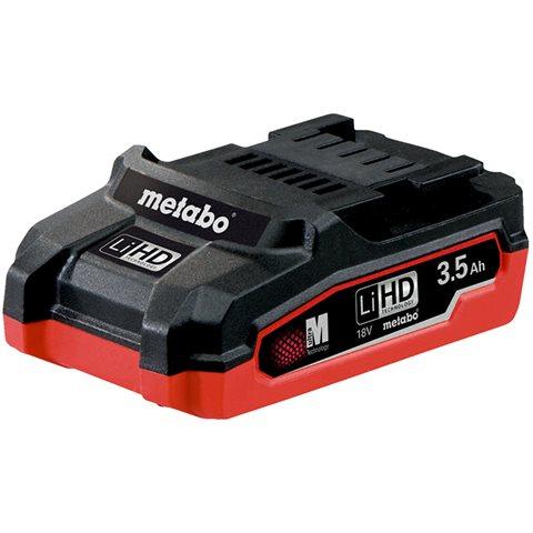 Metabo 18V LiHD Batteri 3,5Ah