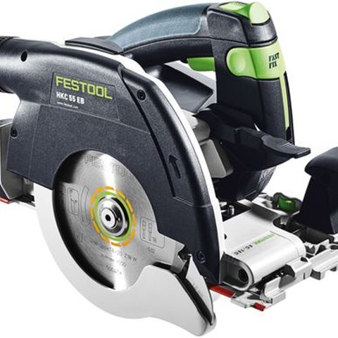 Festool HKC 55 Li 5,2 EB-Plus Cirkelsåg med batterier och TCL 6 laddare