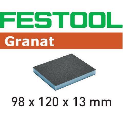 Festool 800 GR Slipsvamp 98x120x13mm, 6-pack