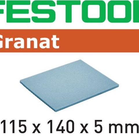 Festool MD 280 GR Slipsvamp 115x140x5mm, 20-pack