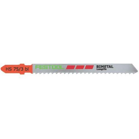 Festool HS 75/3 BI Sticksågsblad 5-pack
