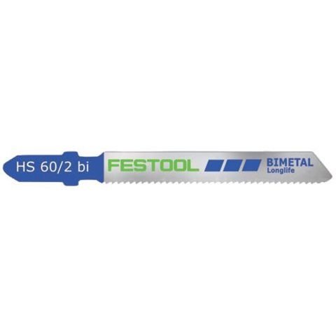 Festool HS 60/2 BI Sticksågsblad 5-pack