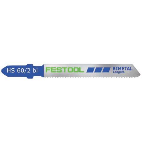 Festool HS 60/2 BI Sticksågsblad 5-pack