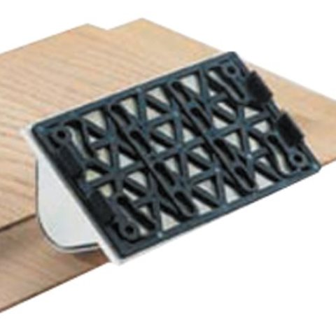 Festool SSH-STF-LS130-R25KX Hålkälsprofilplatta