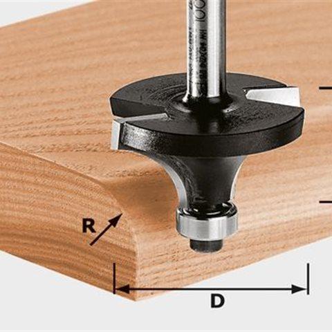 Festool HW S8 D28,7/R8 KL Avrundningsfräs 8mm spindel