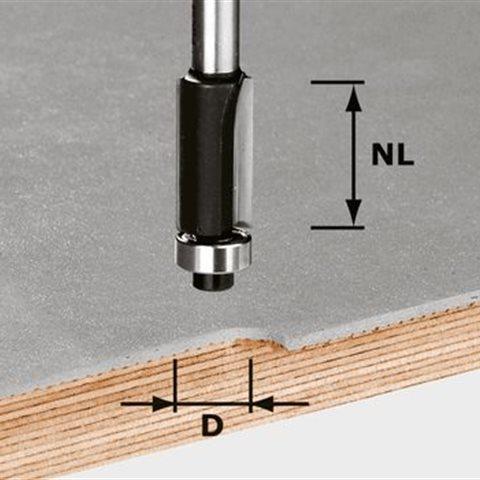 Festool HW S8 D12,7/NL25 Kantfräs 8mm spindel