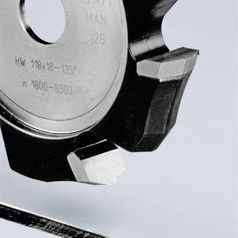 Festool HW 118x18-135° V-notfräs aluminium