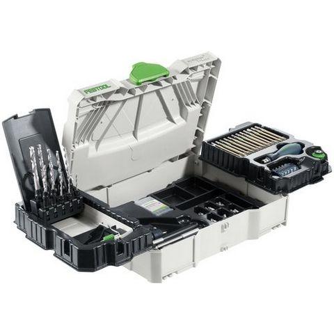 Festool SYS 1 CE-SORT CENTROTEC Systainer med tillbehör