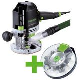 Festool OF 1400 EBQ-Plus + Box-OF-S 8/10x HW Handöverfräs