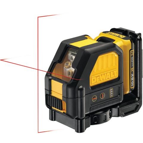 Dewalt DCE088D1R Korslaser med röd laser