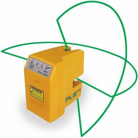 PLS PLS-180 Korslaser med grön laser