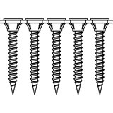 Bosch  Bandad gipsskruv