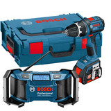 Bosch GSR 18 V-LI + GML Verktygspaket